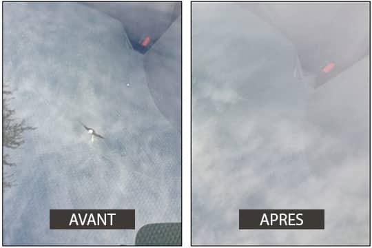 impact, Bris de glace, garage KER-AUTO à Kervignac sur le secteur de Riantec, Hennebont, Languidic, Inzinzac-Lochrist, Plouhinec et Brandérion.