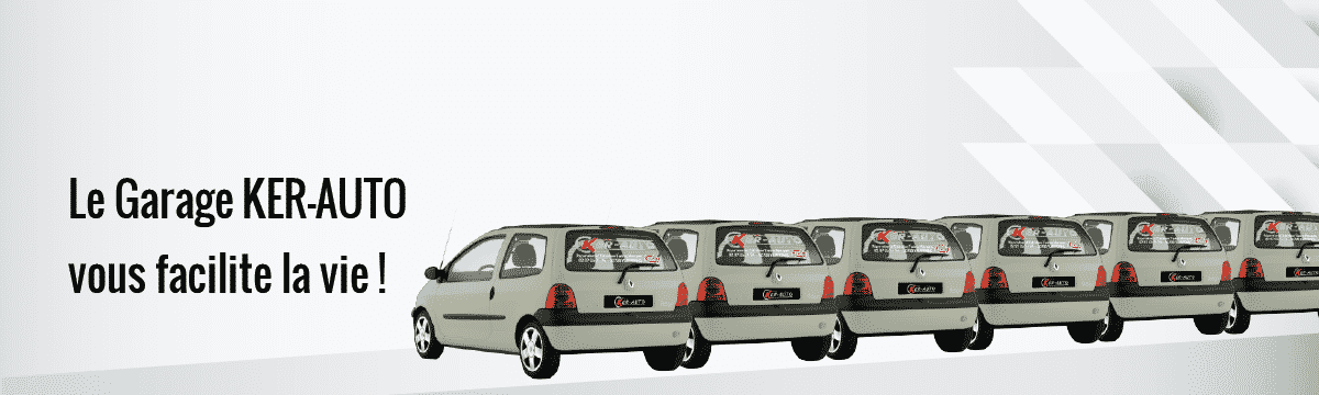 Véhicule de courtoisie, garage KER-AUTO à Kervignac sur le secteur de Riantec, Hennebont, Languidic, Inzinzac-Lochrist, Plouhinec et Brandérion.